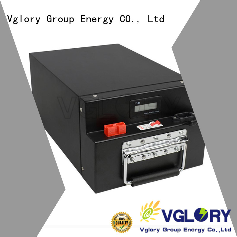 Vglory solar power battery storage personalized for UPS