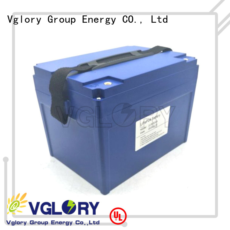 Vglory reliable 48 volt golf cart batteries supplier for golf trolley