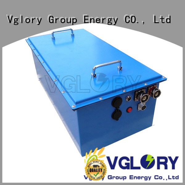 Vglory best solar battery supplier for solar storage