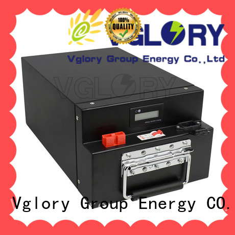 Vglory reliable solar battery storage supplier for telecom