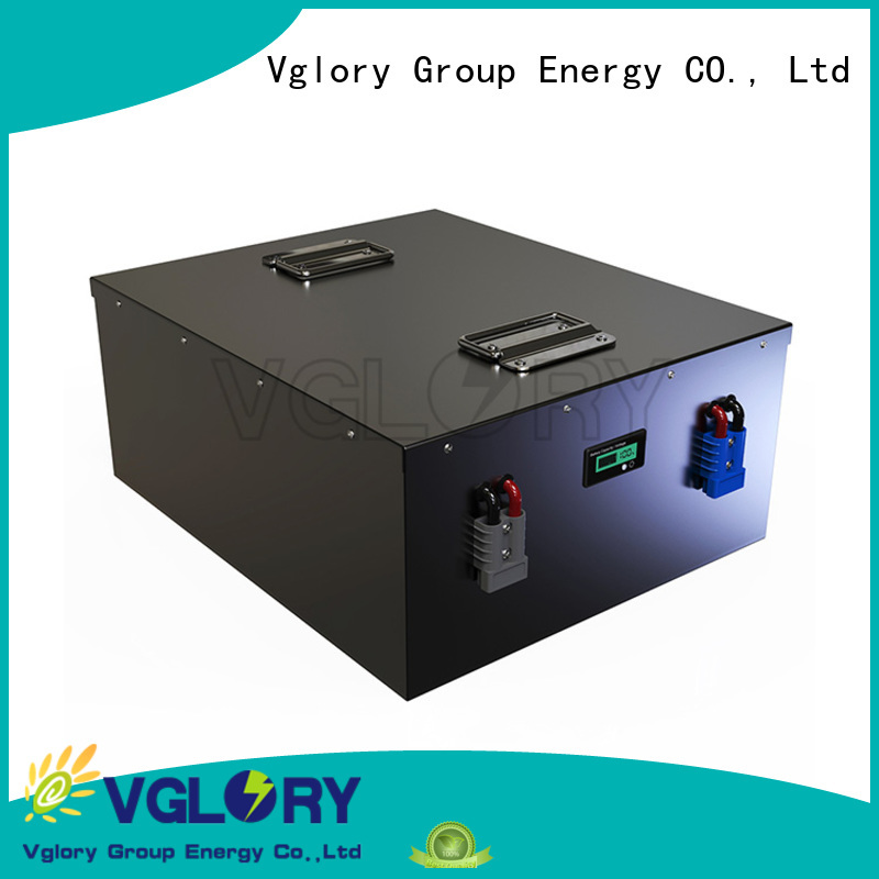 Vglory best solar battery factory price for solar storage