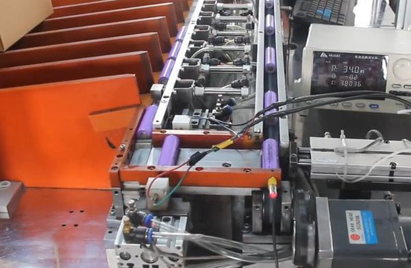 Lithium ion battery cell test for Vglory 48v 72v 60v 20ah lithium battery
