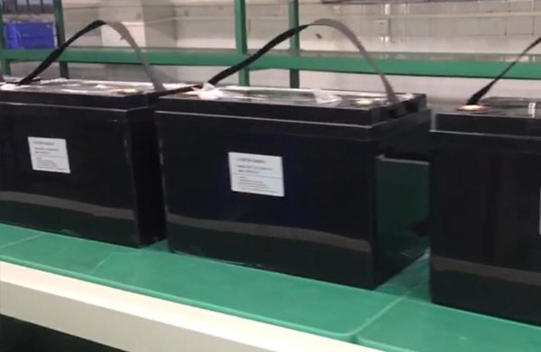 Lifepo4 battery in production Vglory 12v 100ah lithium battery