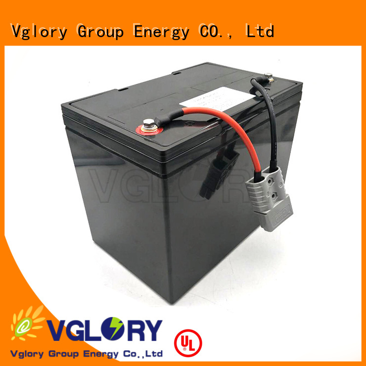 Vglory solar battery factory price for telecom