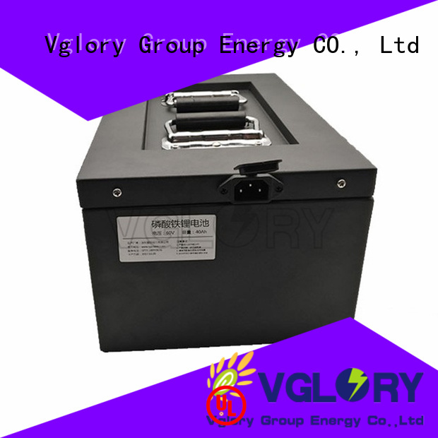 Vglory quality lithium ion battery pack factory price for UPS