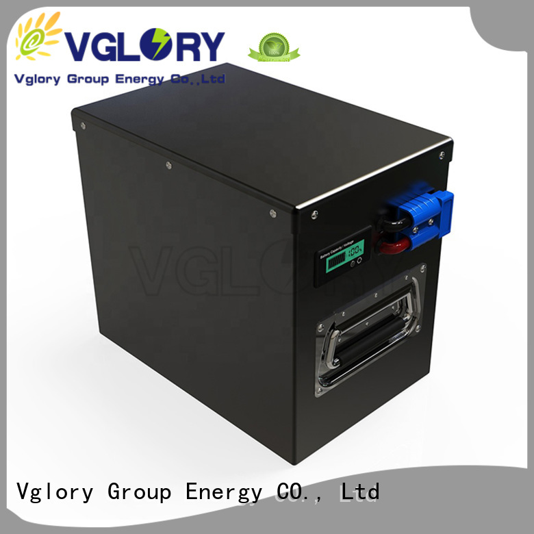 Vglory sturdy solar battery supplier for UPS