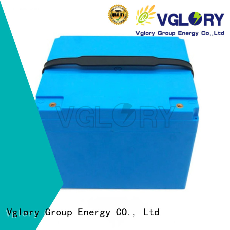Vglory safety deep cycle battery solar supplier for telecom