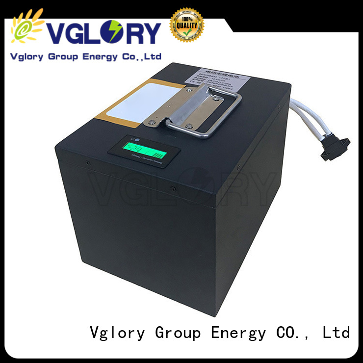 Vglory solar battery storage supplier for military medical
