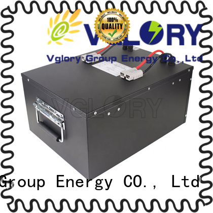 Vglory reliable lithium ion solar battery supplier for telecom
