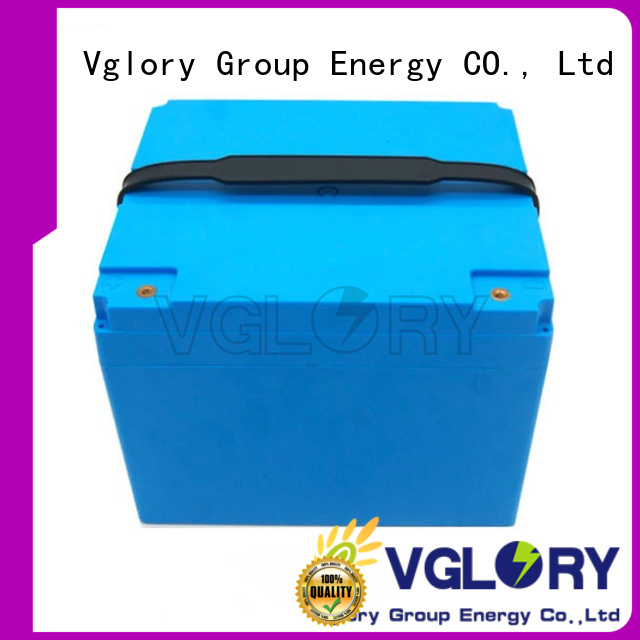 Vglory 8 volt golf cart batteries factory price for e-golf cart