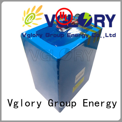 Vglory lithium golf cart batteries wholesale for e-tourist vehicle