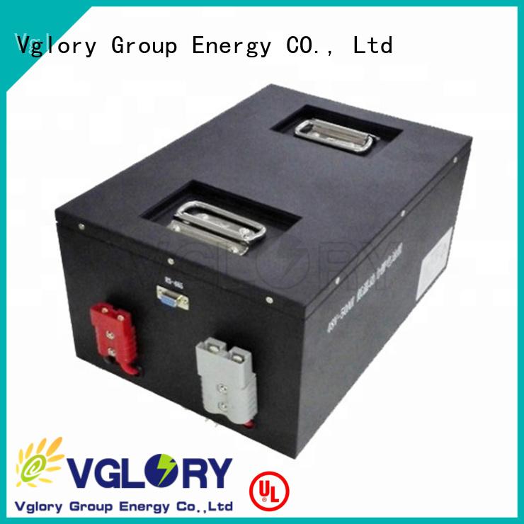 Vglory solar battery storage wholesale for solar storage