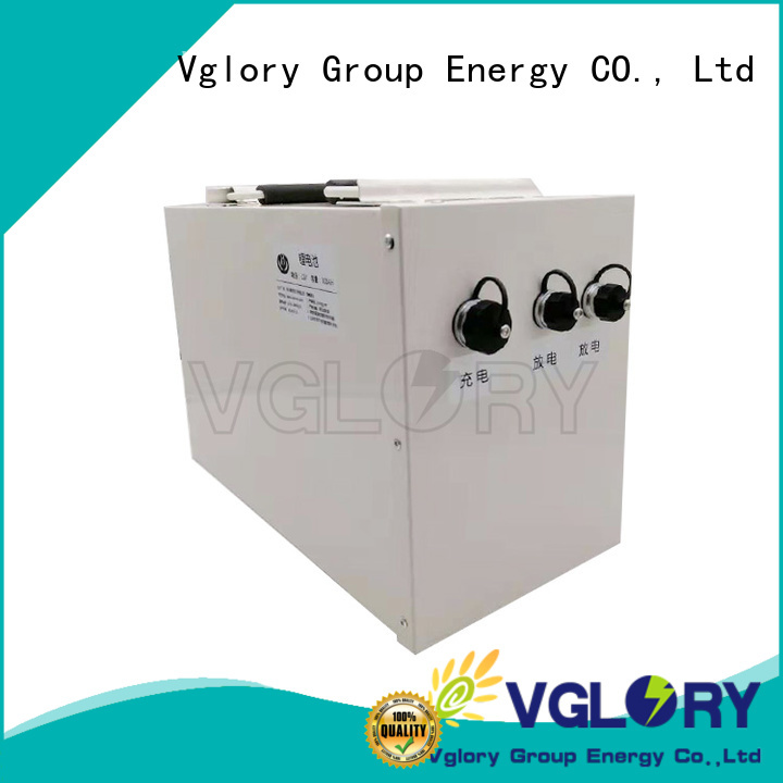 Vglory solar battery storage personalized for telecom