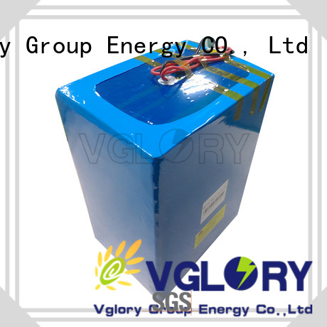 Vglory lithium solar batteries factory price for military medical