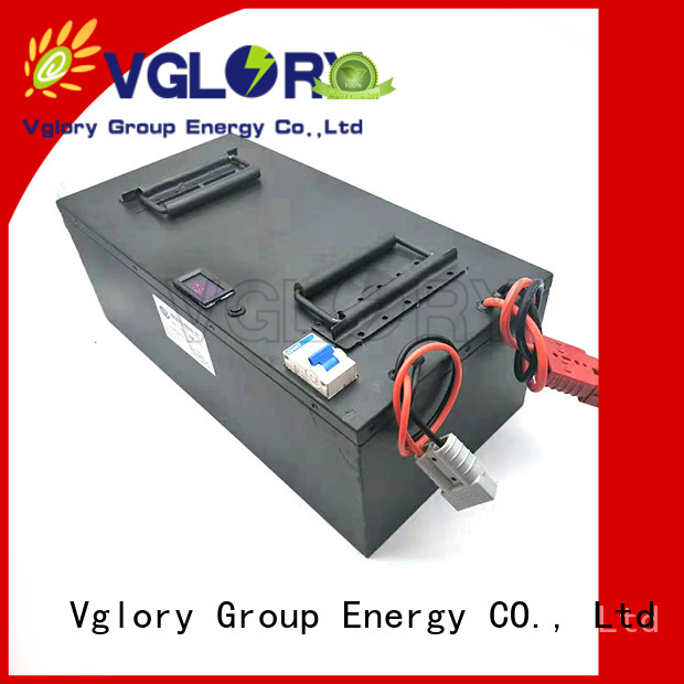 Vglory safety solar battery storage system factory price for UPS