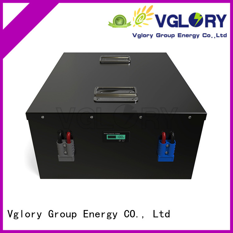 Vglory best solar battery factory price for UPS