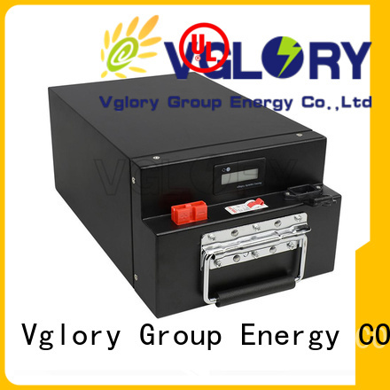 Vglory professional deep cycle battery solar supplier for telecom