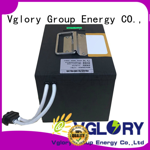 Vglory hot selling lithium batteries supplier for solar storage