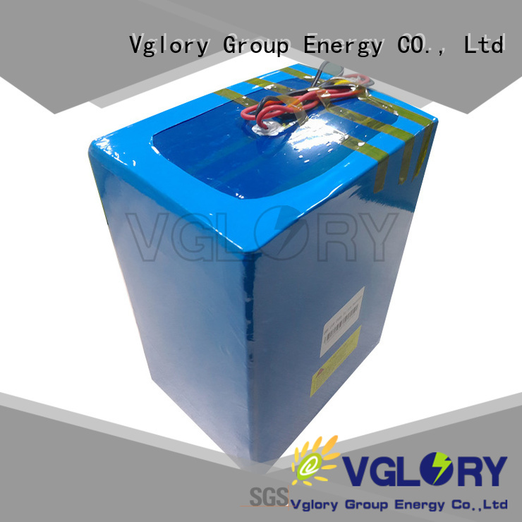 Vglory best solar battery supplier for telecom