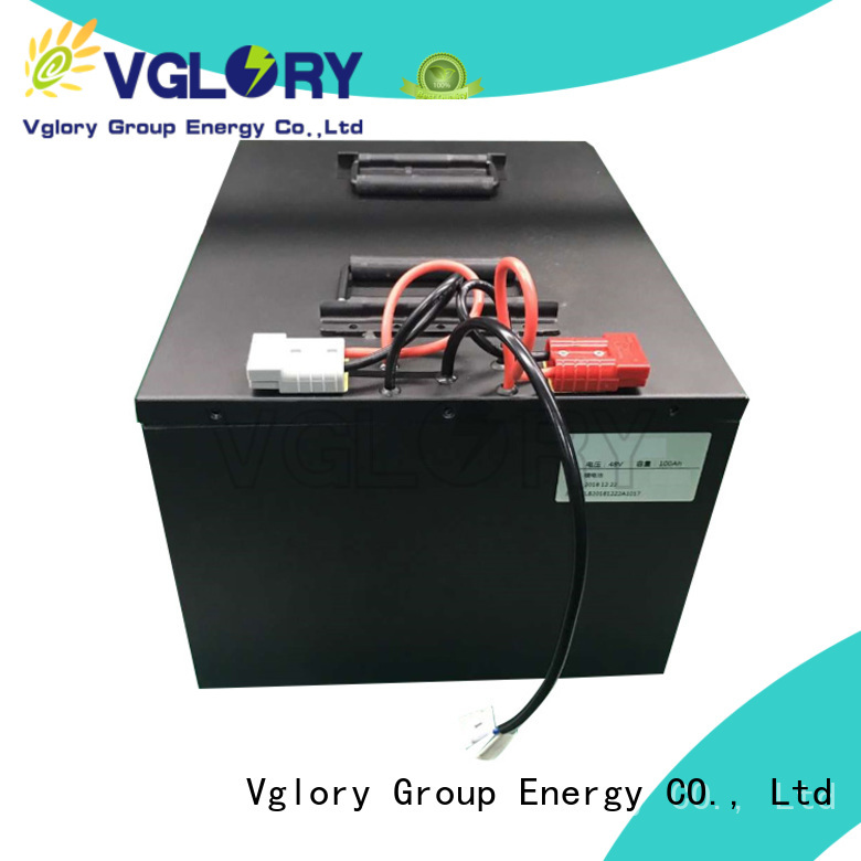Vglory go go scooter battery supplier for e-tricycle
