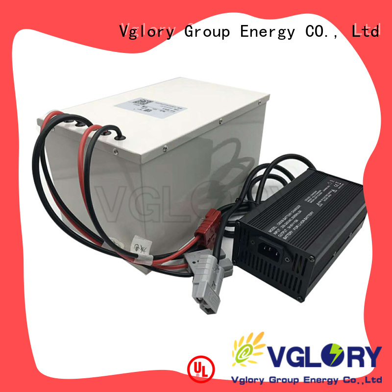 Vglory durable lithium ion battery price factory price for solar storage