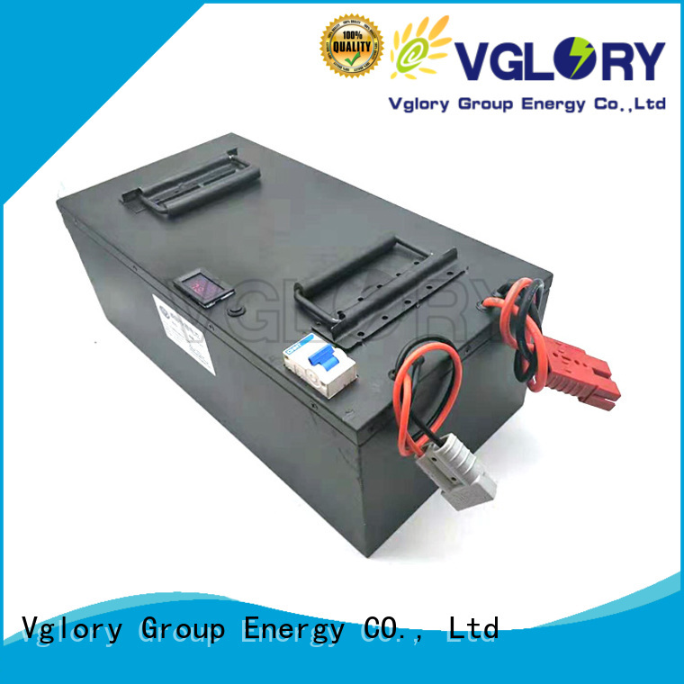 Vglory lithium solar batteries factory price for solar storage