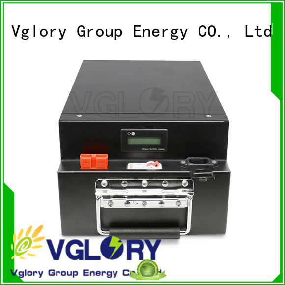 Vglory professional solar battery factory price for UPS