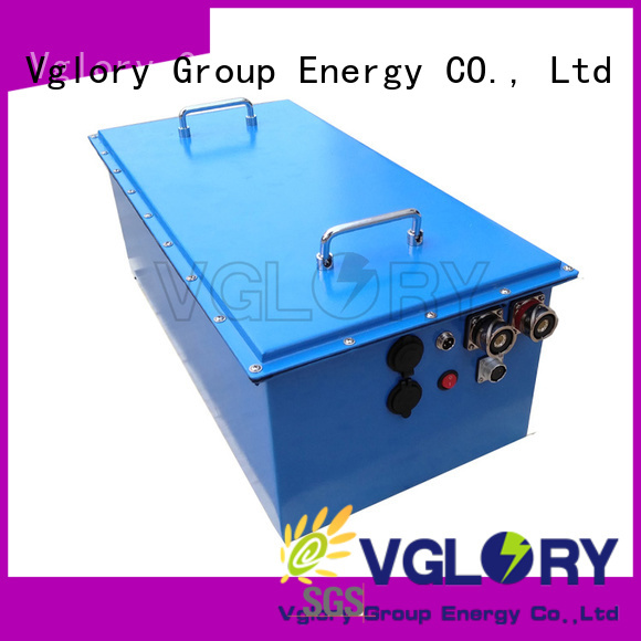 Vglory stable solar power battery storage supplier for solar storage