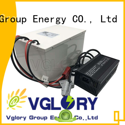 Vglory hot selling lithium battery pack supplier for solar storage