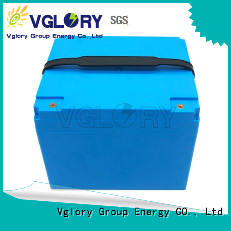 Vglory safety electric golf cart batteries personalized for e-forklift