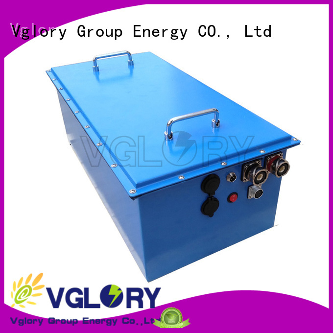 Vglory solar panel battery storage wholesale for telecom
