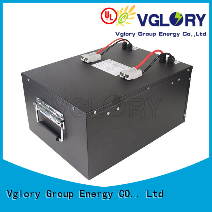 Vglory 8 volt golf cart batteries supplier for e-tourist vehicle