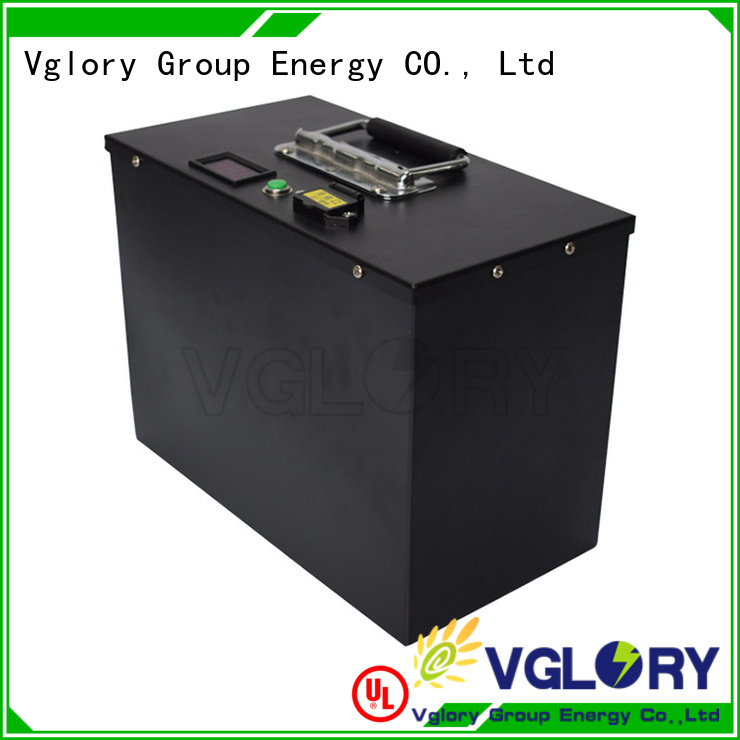 Vglory safety 12 volt golf cart batteries factory price for e-forklift