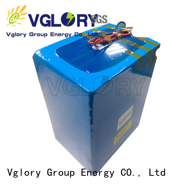 Vglory best solar battery personalized for military medical