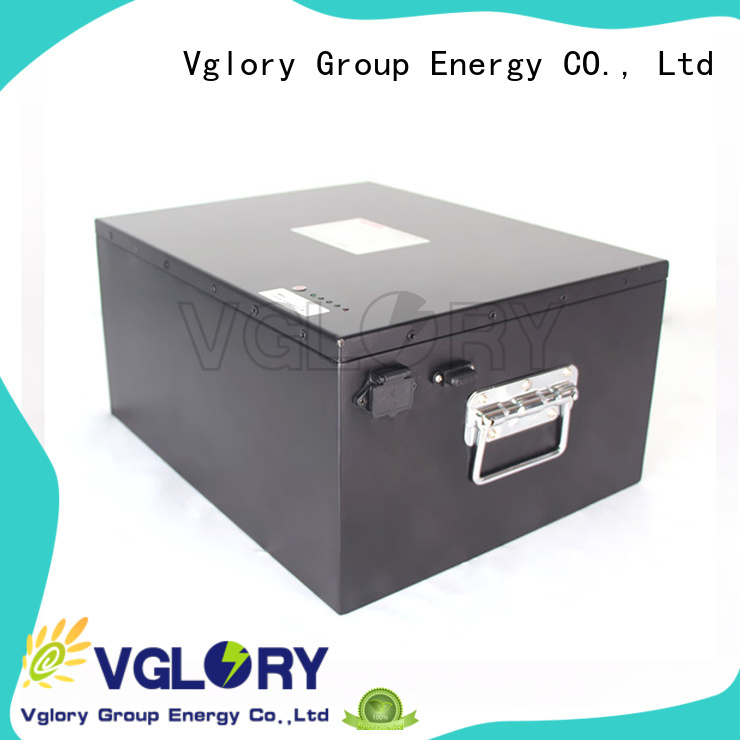 Vglory sturdy lithium solar batteries supplier for solar storage
