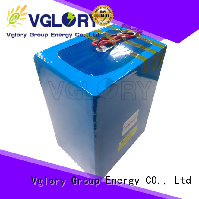 Vglory safety golf cart batteries near me wholesale for e-tourist vehicle