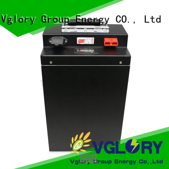 Vglory lithium ion battery price factory price for solar storage