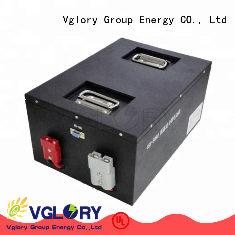 Vglory solar battery wholesale for telecom
