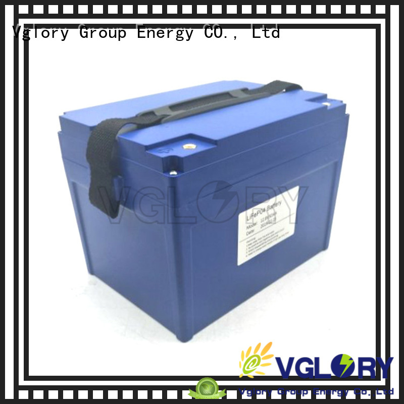 Vglory reliable lithium phosphate battery design for e-scooter