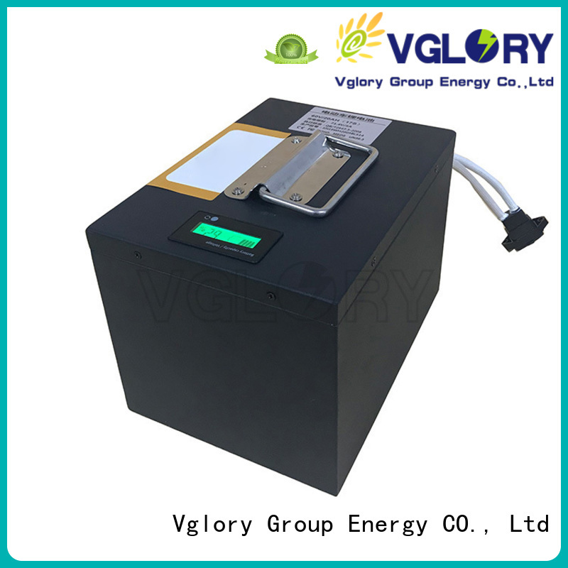 Vglory professional deep cycle battery solar personalized for telecom