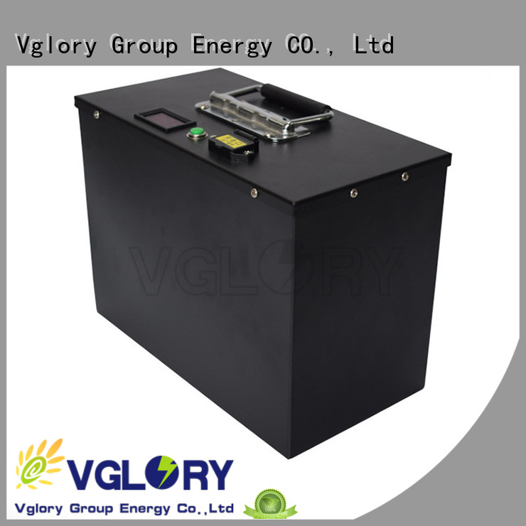 Vglory 6 volt golf cart batteries factory price for e-tourist vehicle