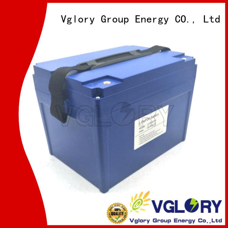 Vglory best golf cart batteries supplier for golf trolley