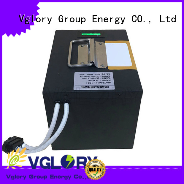 Vglory practical ion battery supplier for solar storage