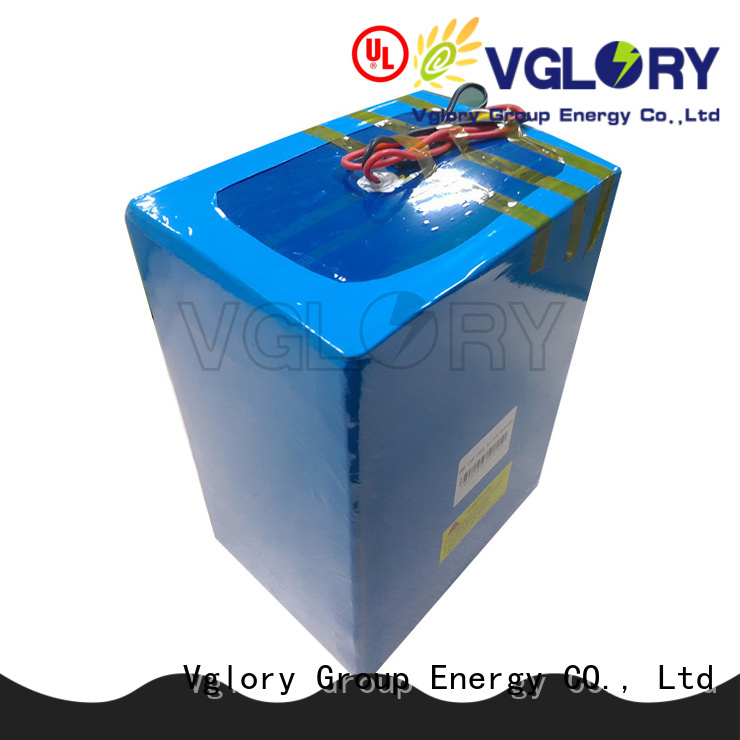 Vglory lithium ion motorcycle battery on sale for e-tricycle