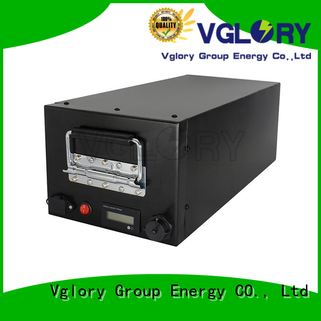 Vglory lithium solar batteries wholesale for military medical