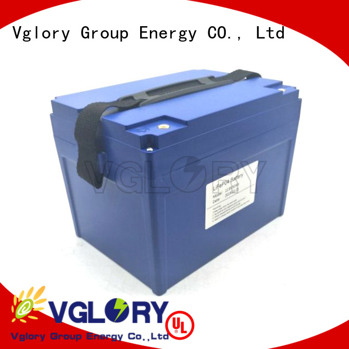 Vglory safety deep cycle battery solar supplier for solar storage