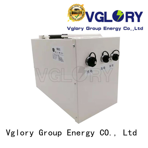 Vglory top quality lithium golf cart batteries wholesale for golf trolley