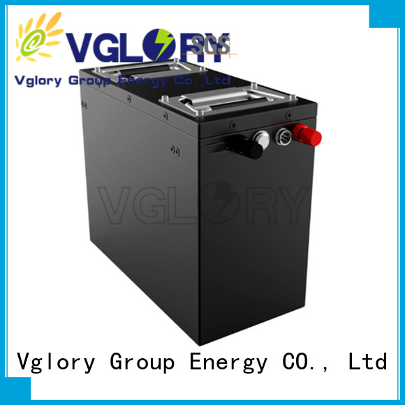 Vglory durable battery storage supplier for military medical