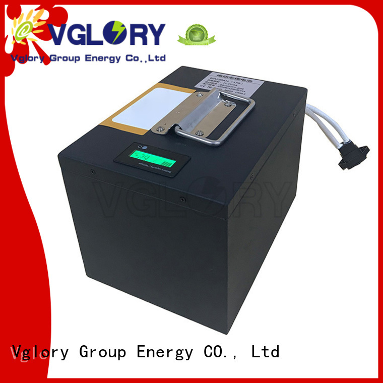 Vglory solar battery storage personalized for solar storage