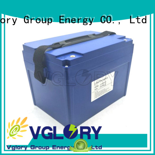 Vglory stable solar batteries for home supplier for military medical
